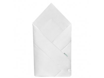 Babyrenka zavinovačka 80x80 cm Simple bílá