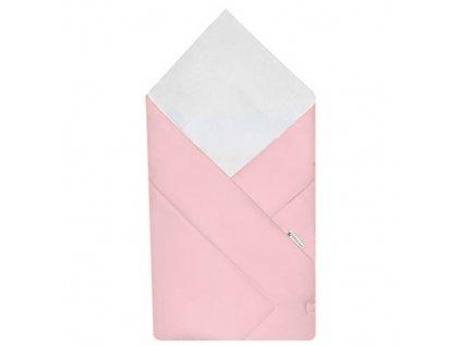 Babyrenka Zavinovačka 80x80 cm Simple pink