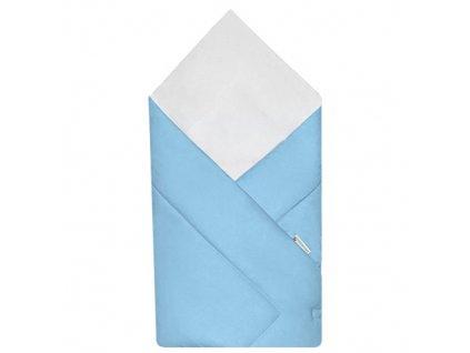 Babyrenka zavinovačka 80x80 cm Simple sky blue