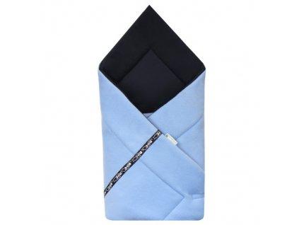 Babyrenka Zavinovačka fleece Soft 80x80 cm Piráti blue ZSPB210