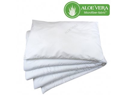 Babyrenka souprava deka a polštář 40x50, 90x120 cm Aloe Vera PL 400 gr Unico