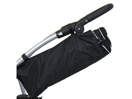Babyrenka universální obal na pláštěnku pro dětské kočárky velký černý
