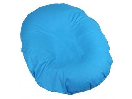 Babyrenka kojenecký relaxační polštář 80x60 cm Aqua