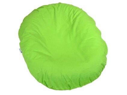 Babyrenka kojenecký relaxační polštář 80x60 cm Lime