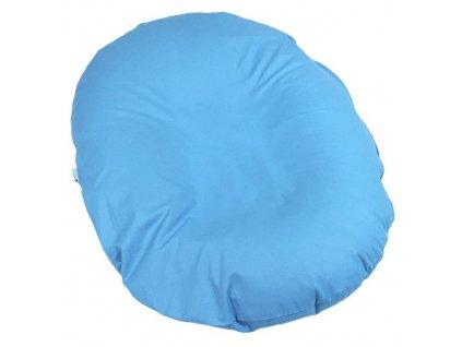 Babyrenka kojenecký relaxační polštář 80x60 cm Sky Blue