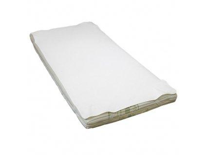 Babyrenka Nepropustná podložka na matraci s gumou 180x200 cm bílá