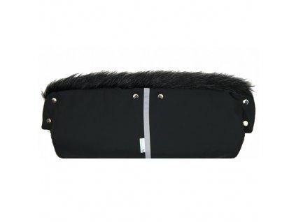 Babyrenka Rukávník přepínací Softshell Lux černá RPSL303C