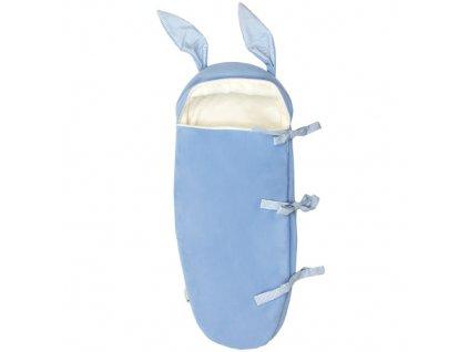 Babyrenka spací pytel zajíček modrý