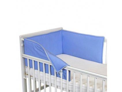 Ochranný límec do postýlky 180 Uni blue L18020257
