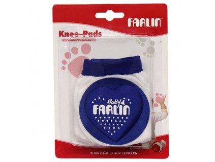 Farlin chrániče na kolena modrá