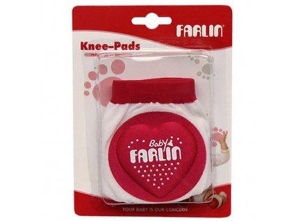Farlin chrániče na kolena růžová