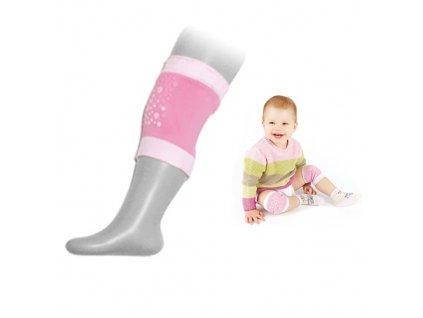 Besnazzy chrániče na kolena růžová NK-01
