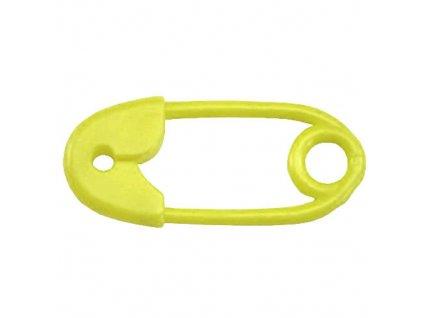 Farlin chrastítko Špendlík žlutá