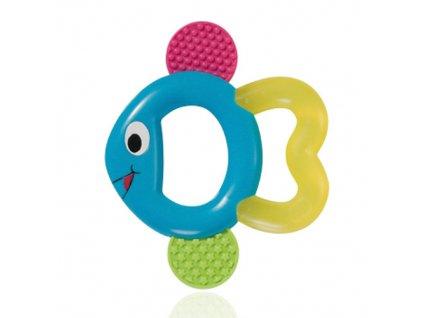 Baby Nova kousátko chladící rybka tyrkysová