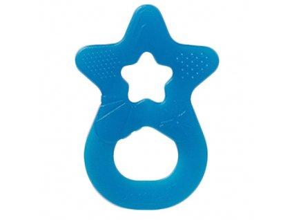 Denti Star kousátko silikonové hvězda tyrkysová