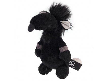 Rock Star Baby plyšák Krysa malá 15 cm černá s dárkem