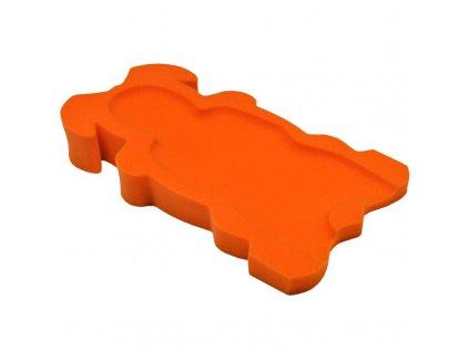 Badum pěnové lehátko Maxi  02 oranžová Maxi02