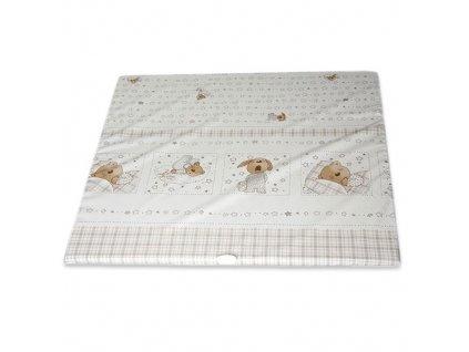 Philippo plochá přebalovací podložka 75x85 col.11 ospalý medvídek
