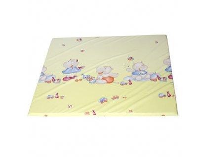 Philippo plochá přebalovací podložka 75x85 06 hrošík P5414406