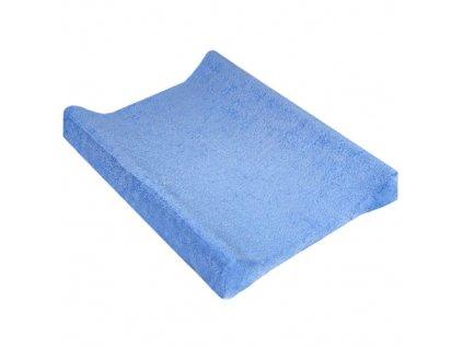 TyiMy návlek na podložku froté modrý 70-80x50 cm
