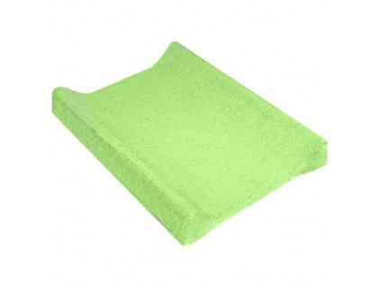TyiMy návlek na podložku froté zelený 70-80x50 cm