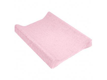 TyiMy návlek na podložku froté růžový 70-80x50 cm