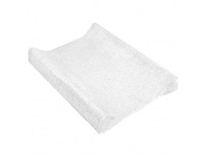 TyiMy povlak na podložku froté bílý 80x50 cm