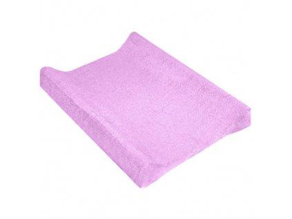 TyiMy povlak na podložku froté fialový 70-80x50 cm