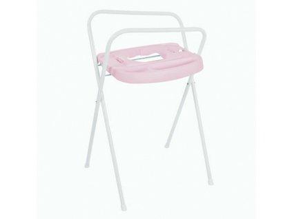 Bébé Jou kovový stojan na vanu Click 98 cm Pretty pink světle růžový