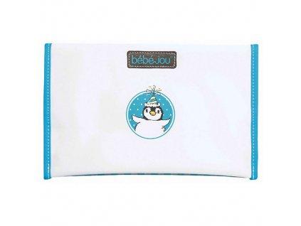 Bébé Jou pouzdro na plenku Pinguin tyrkysový