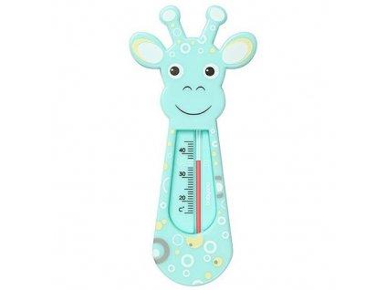 Baby Ono dětský teploměr koupelový žirafa mátová