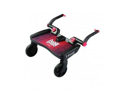 Lascal Buggy Board Maxi stupátko za kočárek červené