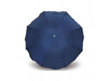 Eisbärchen slunečník ke kočárku 70 cm tmavě modrý e7007DB
