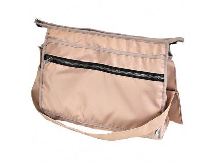 Emitex přebalovací taška na zip hranatá béžová 000430