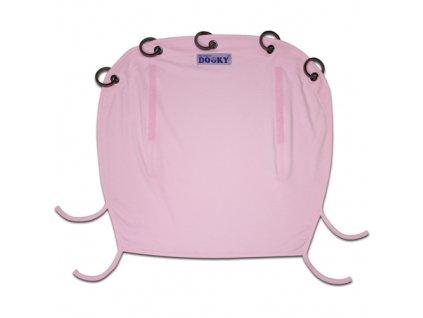 Dooky sluneční clona Baby Pink