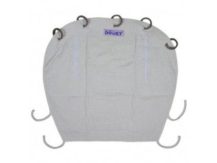Dooky Design sluneční clona DeLuxe Grey 126725