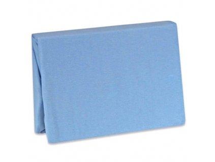 tyimy prosteradlo jersey modra