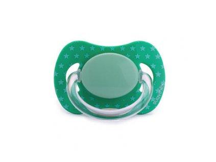 Suavinex dudlík silikonové fyziologické 0 m+ zelené