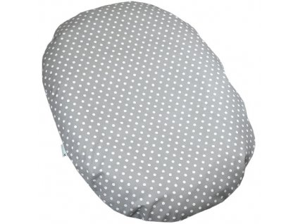 relaxacni polstar dots big grey