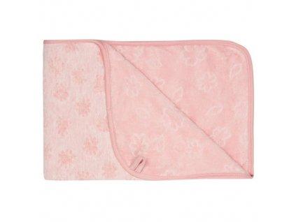 bebejou pled blush pink