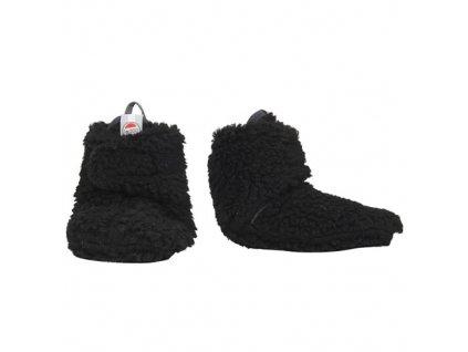 lodger slipper teddy black