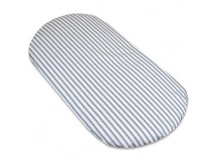 prosteradlo 40x80 kocarek stripes grey