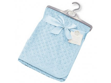 snuggle deka minky modra