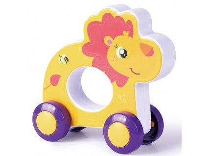 rappa hracka na koleckach lev