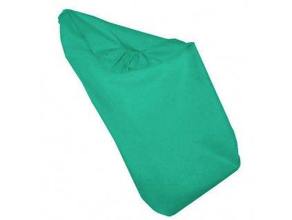 prosteradlo lisa kolebka 40x90 smaragd