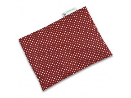 nahrivaci pohanka dots dark red