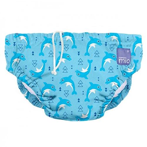 Bambino Mio koupací kalhotky L 9-12kg Dolphin