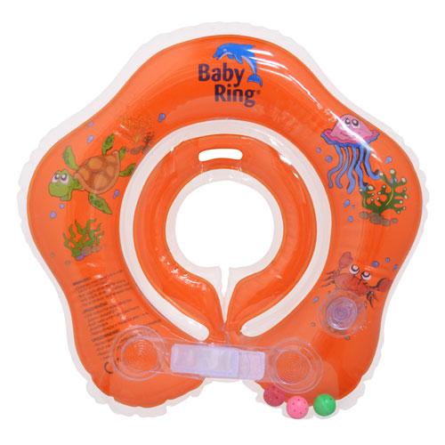 Baby Ring 0-24 m 3-15 kg oranžový 6510.102