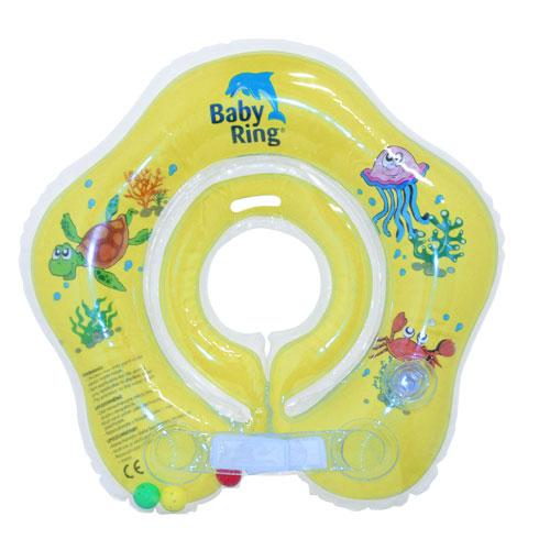 Baby Ring 0-24 m 3-15 kg žlutý 6510,101