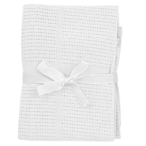 Baby Dan dětská deka háčkovaná bílá 6355-01